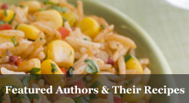 Featured Authors & Their Recipes