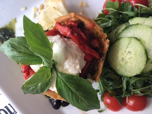 Amy Poeppel's LIMELIGHT Goat Cheese Phyllo Tortes from Pascalou
